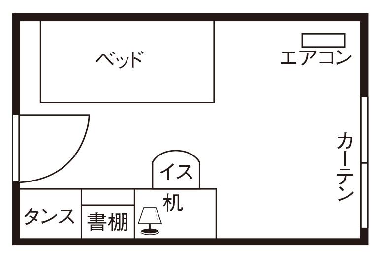 間取り図(一例)